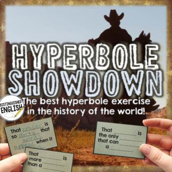 Hyperbole Showdown Activity