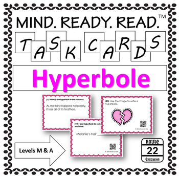 Hyperbole Task Cards for Middle School