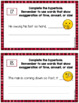 Hyperbole Activities and Task Cards