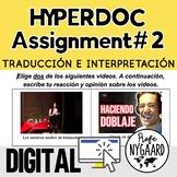 Hyperdoc Assignment #2: Traducción e interpretación