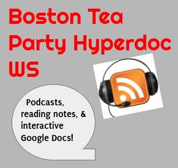 Hyperdoc: Boston Tea Party