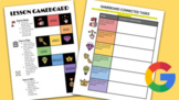"""Hyperlinked """"GAMEBOARD"""" Lesson Template"""