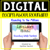 Digital Resource for Rounding 4th Grade using Google Slides