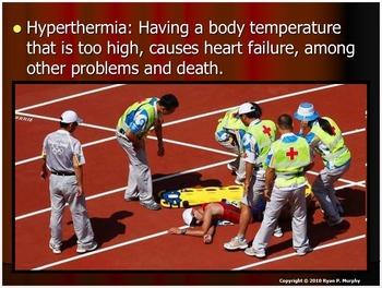 Hypothermia, Hyperthermia, Heat Stroke, Heat Exhaustion PowerPoint