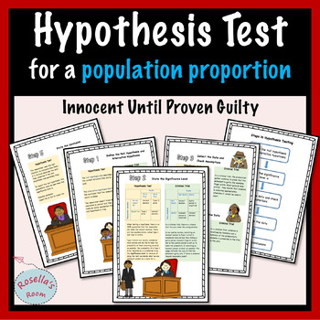 Hypothesis Test for a Population Proportion - Analogy to a Criminal Trial