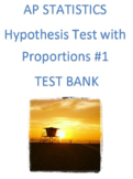 AP Statistics: Hypothesis Test with Proportions Review