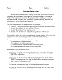 Hypothesis Testing Project