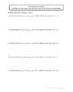 Hypothesis Testing Worksheet Bundle