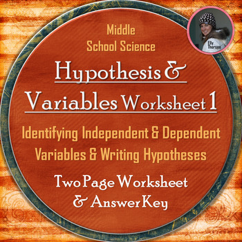 Hypothesis Worksheet Teaching Resources Teachers Pay Teachers