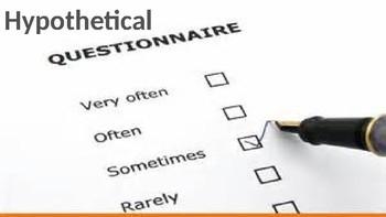 Hypothetical Questionnaire
