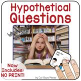 Hypothetical Questions (Basic) Interactive Book - Speech T