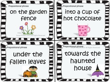 Hysterical Halloween Mad Libs Style Card Activity Building Sentences