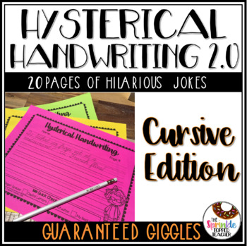 Hysterical Handwriting 2.0 Jokes & Giggles Cursive Edition