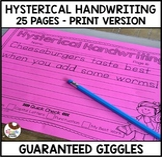 Hysterical Handwriting- Guaranteed Giggles