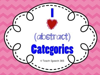 I Heart (abstract) Categories