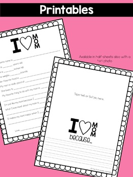 Mother's Day Crafts and Activities
