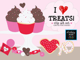 I Heart Treats! Clip Art Set