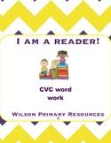 I AM A READER CVC WORK