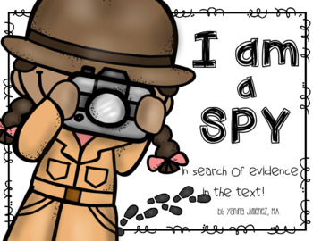 I AM A SPY in Search of Evidence in the Text!