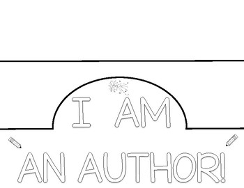 I AM AN AUTHOR hat