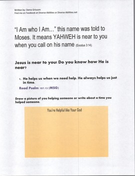 """I AM"" Beautiful: A Devotion for Tween/Teens/Adults with special needs"