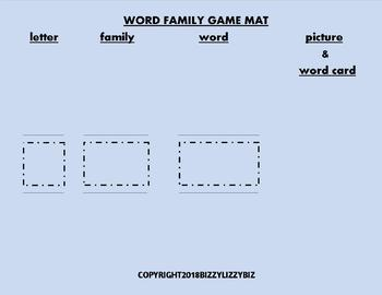 I AM JAM ! : Reading Word Family Games