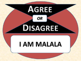 I AM MALALA - Agree or Disagree Pre-reading Activity