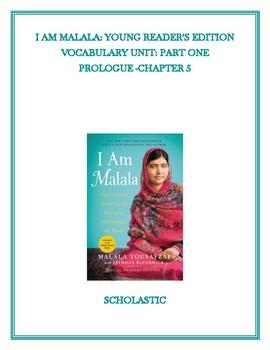 I AM MALALA: VOCABULARY UNIT PART 1   (YOUNG READERS EDITION)