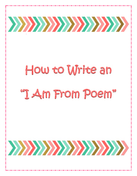 I AM POEM FROM POEM TEMPLATE AND SAMPLE