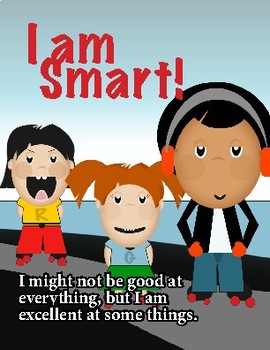 I AM SMART- Self Esteem Boosting Booklet