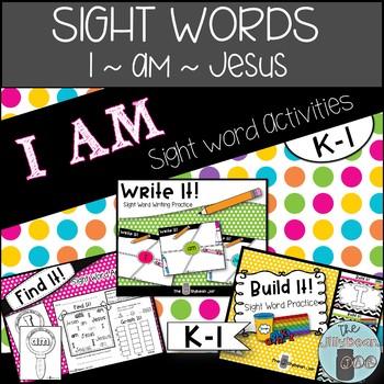 I AM Sight Word Activities