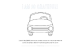 I AM So Grateful for Safe Warm Cars! Thanksgiving Coloring Page