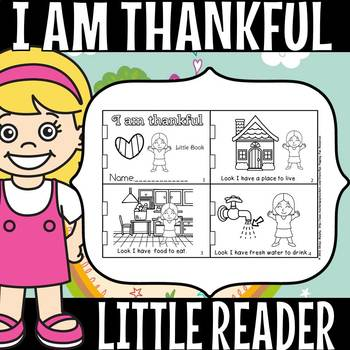 I AM THANKFUL FOR LITTLE BOOK
