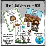 I AM Verses and Games - International Children's Bible Version