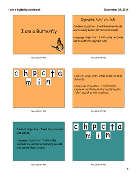 I Am A Butterfly, A first grade Trophies anthology