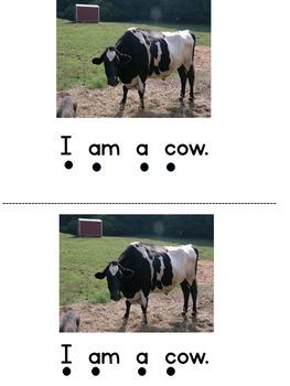 I Am A Farm Animal Level A Emergent Reader
