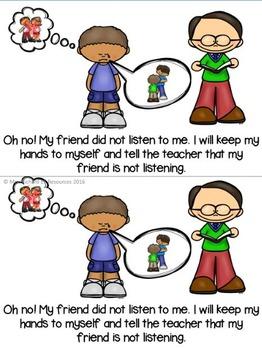 I Am A Good Learner Social Story