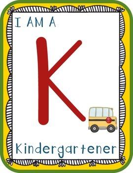 I Am A Kindergartener