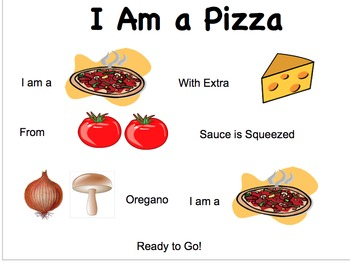 I Am A Pizza SMARTBoard File