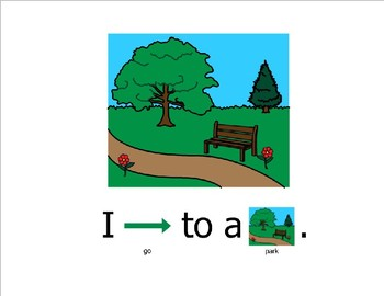 At The Park (Sight Word Story Book to support Reading Street K)