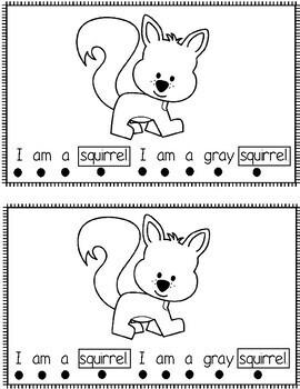 I Am A Squirrel  (Non-Fiction Reader)