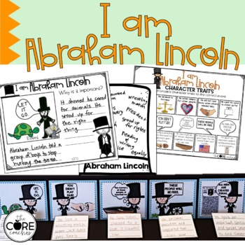 I Am Abraham Lincoln: Interactive Read-Aloud Lesson Plans and Activities
