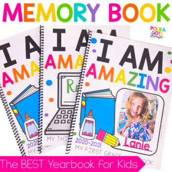 I Am Amazing Memory Book