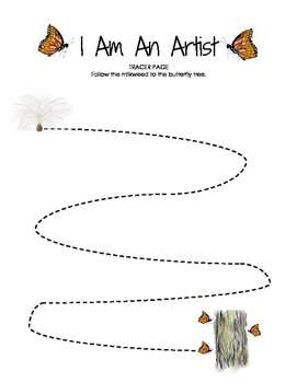 I Am An Artist Tracer (Single Line)