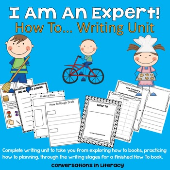 I Am An Expert!  How To Writing Unit