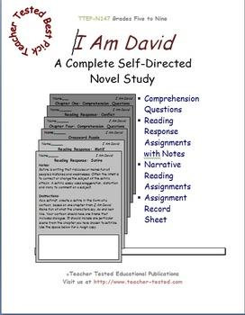 I Am David: A Complete Novel Study