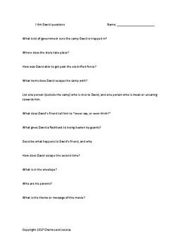 I Am David questions