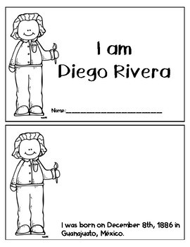 I Am Diego Rivera English