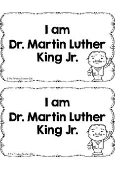 I Am Dr. Martin Luther King Jr.