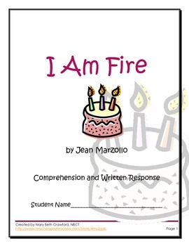 I Am Fire {Comprehension and Short and Long I Word Sort!!!}